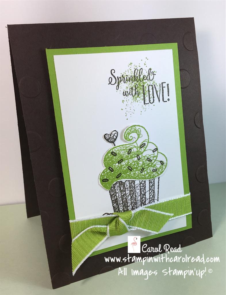 Hello Cupcake stamp set