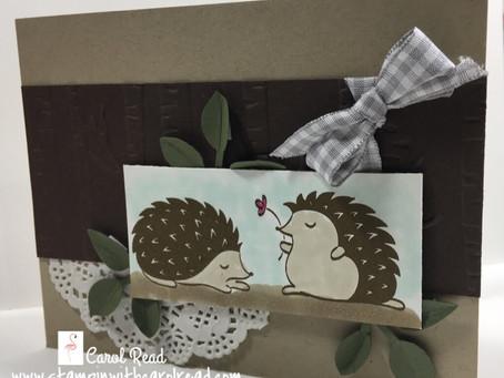 Hedgehugs Stamp Set