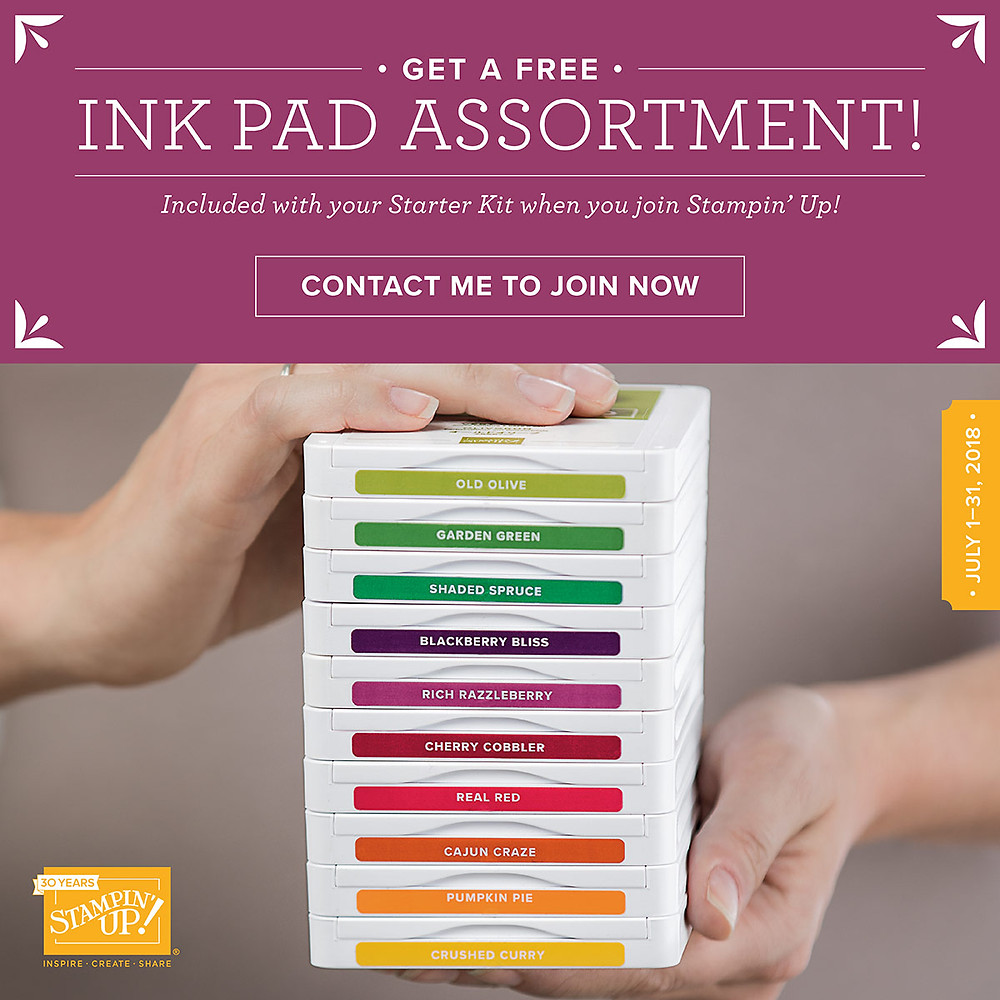 Free Ink Pads Offer