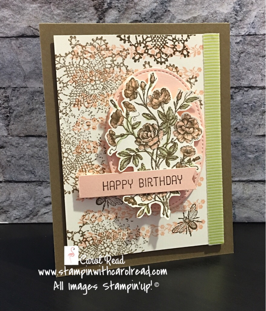 Very Vintage birthday card