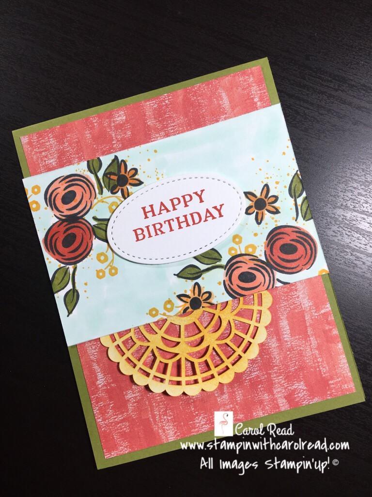 Happy Birthday with Perennial Birthday