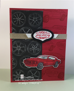 Geared Up Garage Stampin Up!