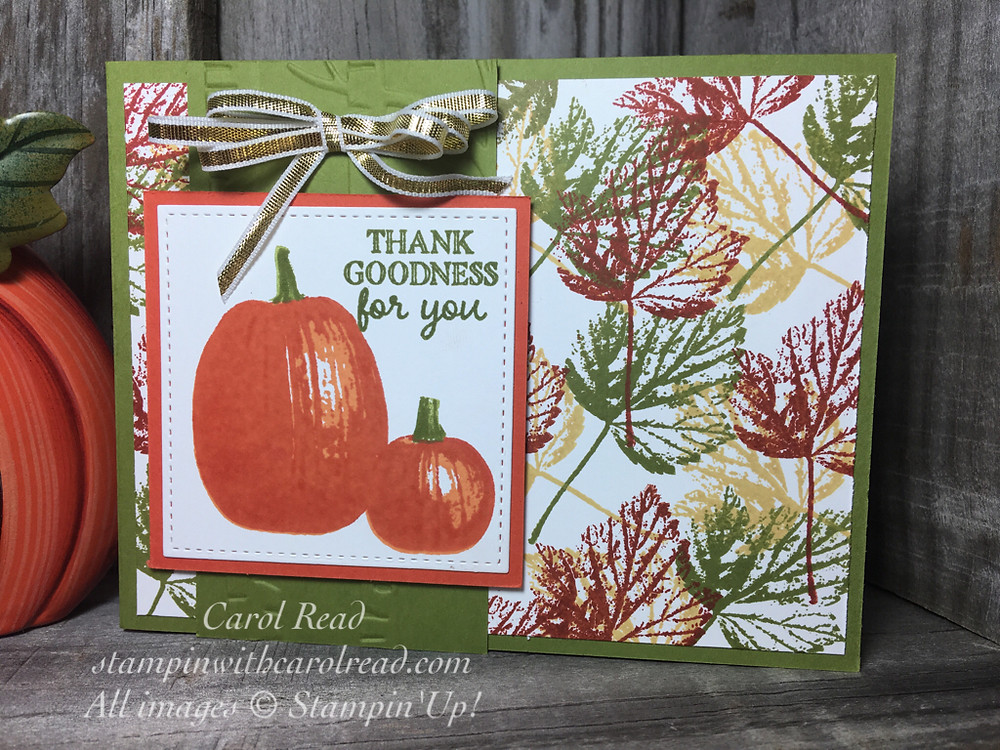 Gourd Goodness Stampin Up