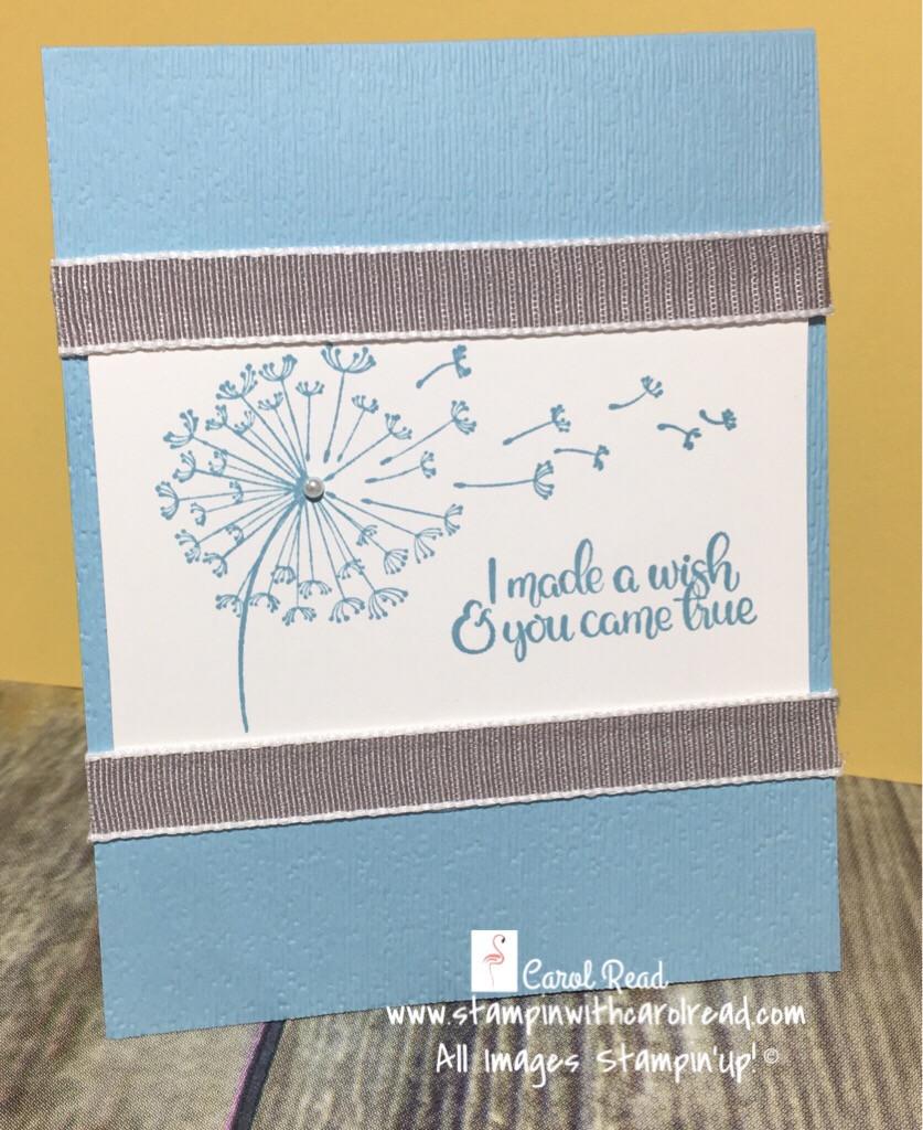 Dandelion Wishes Blue