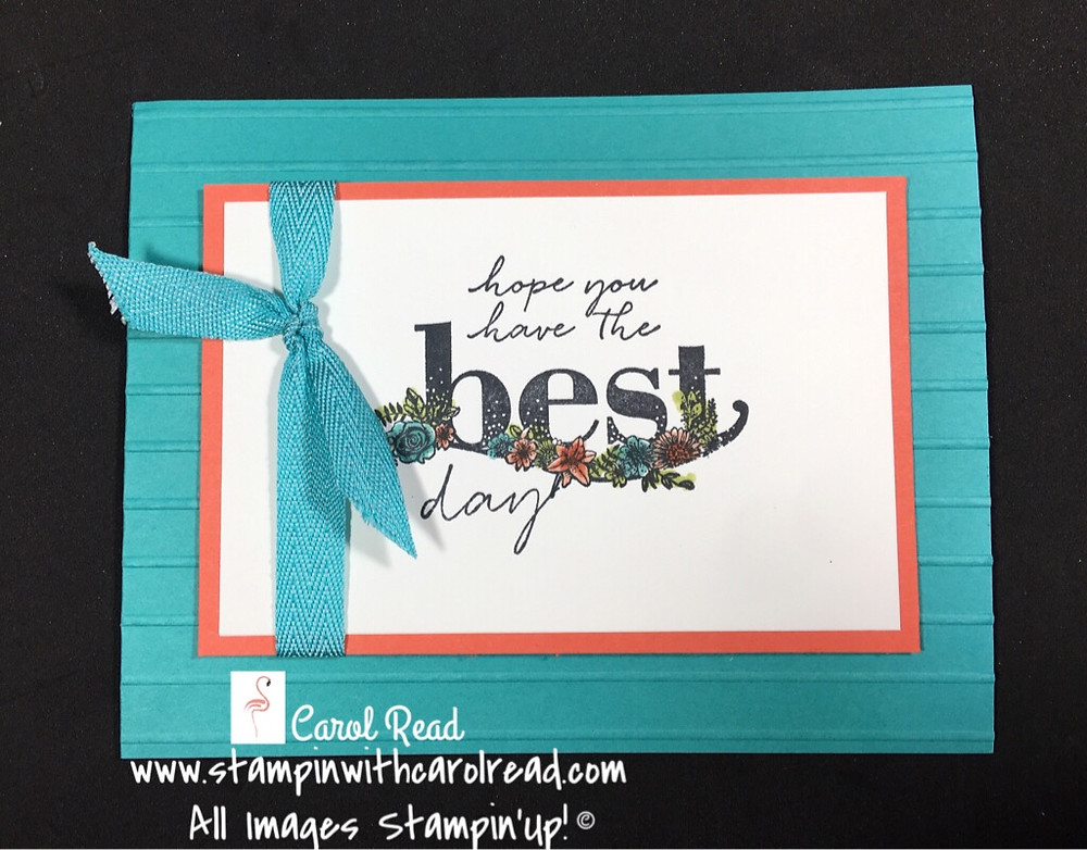 Happy Wishes Stampin Up!