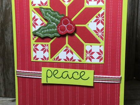 Christmas Quilt - Peace