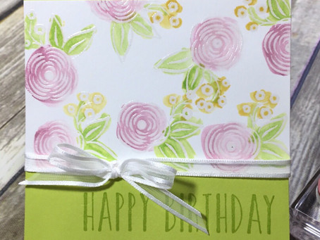 Perennial Birthday - Birthday card