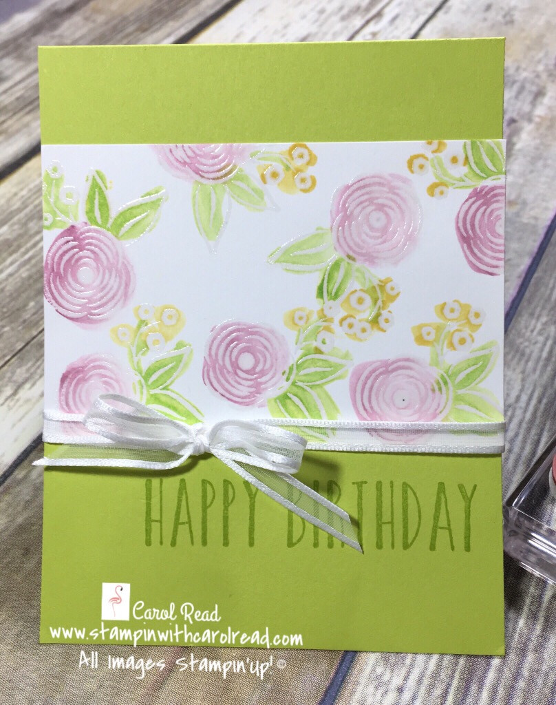Perennial Birthday Stampin' Up!