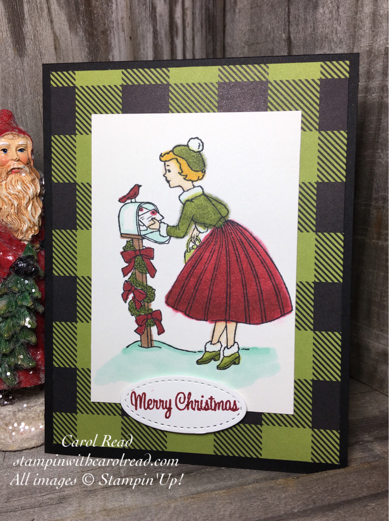 Christmas in the Making - Stampin' Blends