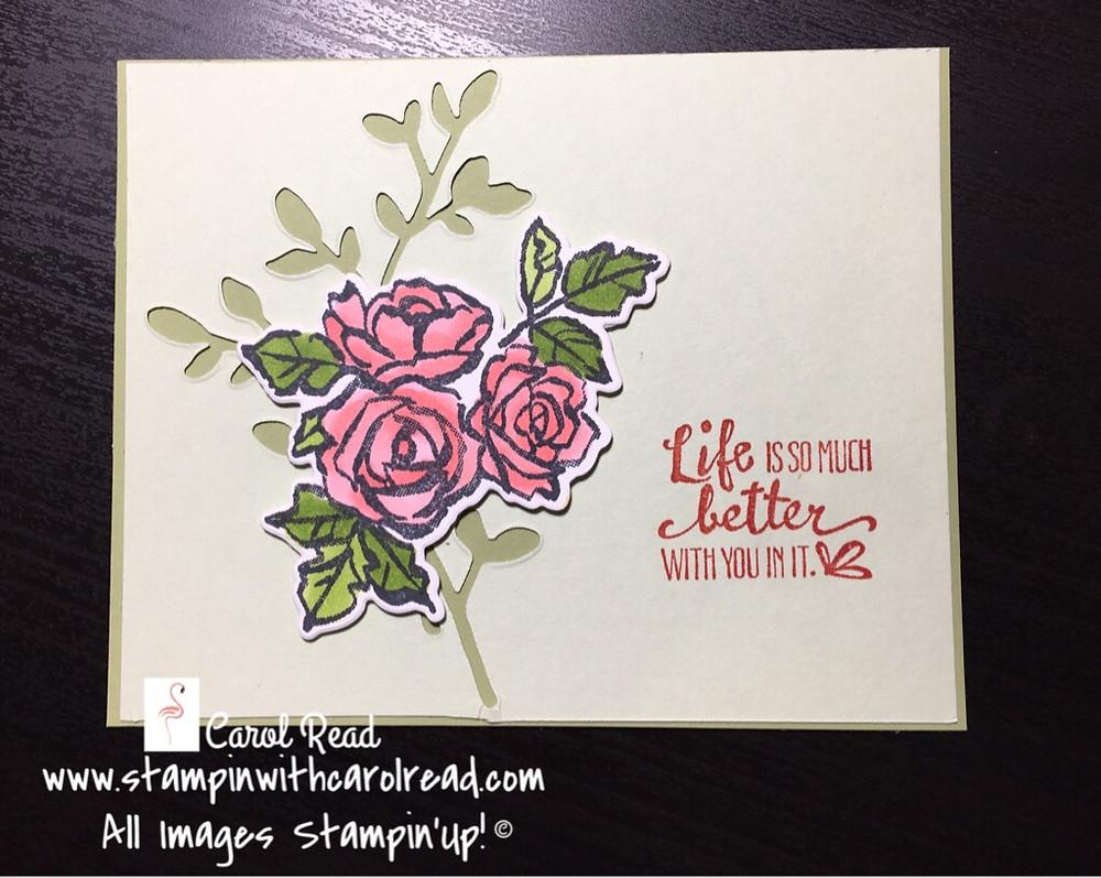Petal Palette stamp set
