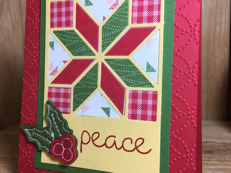 Christmas Quilt- Peace
