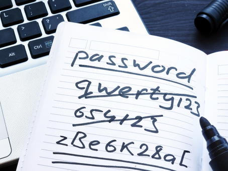 CCG Wants to Help Make Sure You Are Using Strong Passwords in 2021.