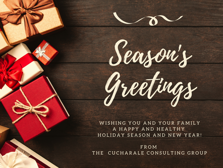 Happy Holidays, From CCG!