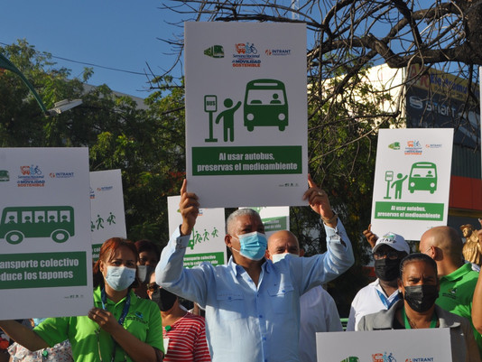 OMSA promueve el transporte público con parada de concientización