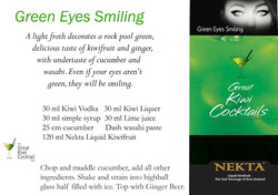 Green Eyes Smiling