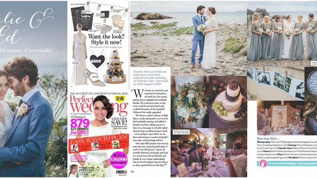 Couchs Catering Ltd featured in 'Perfect Wedding' Magazine