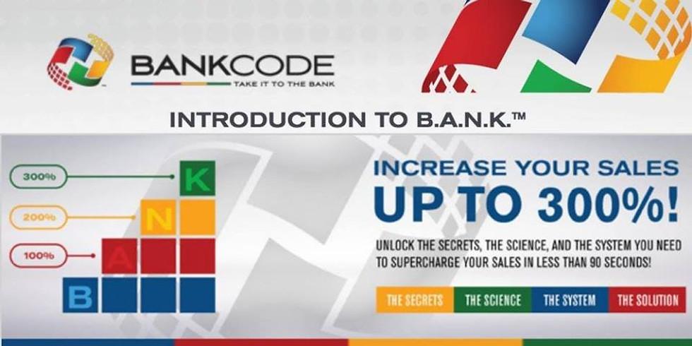 Introduction to BANK - Webinar