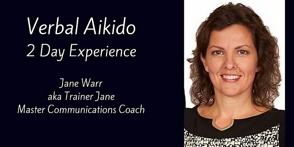 Verbal Aikido 2 Day Experience - Durham and Zoom