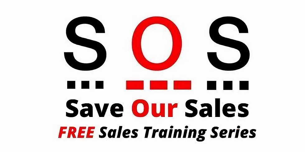 Free Events - Save Our Sales Sales Training Series