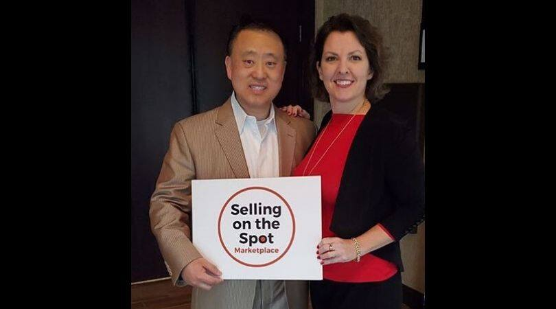 John Shin and Trainer Jane Warr