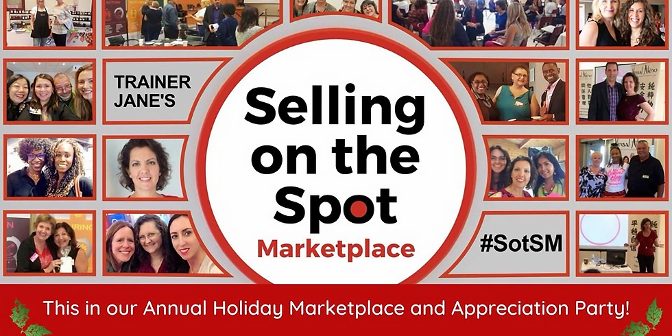 Selling on the Spot Holiday Marketplace and Celebration! - Ajax