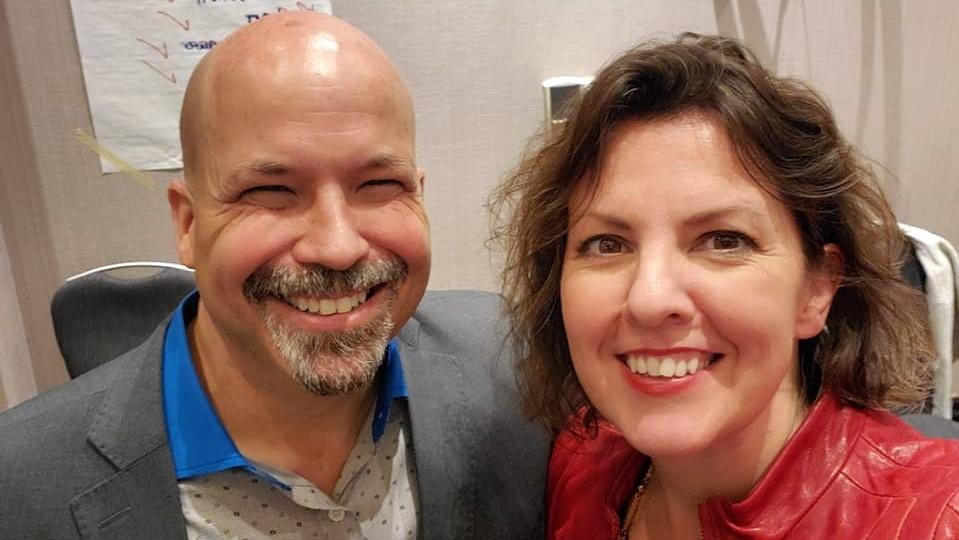 Robert Raymond Riopel and Trainer Jane