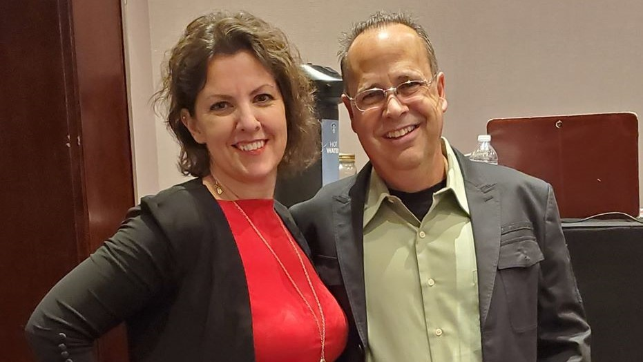 Trainer Jane and Mark Yuzuik