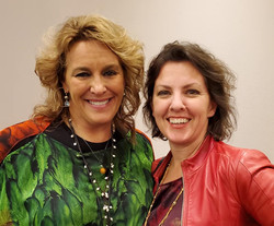 Loral Langemeier and Trainer Jane