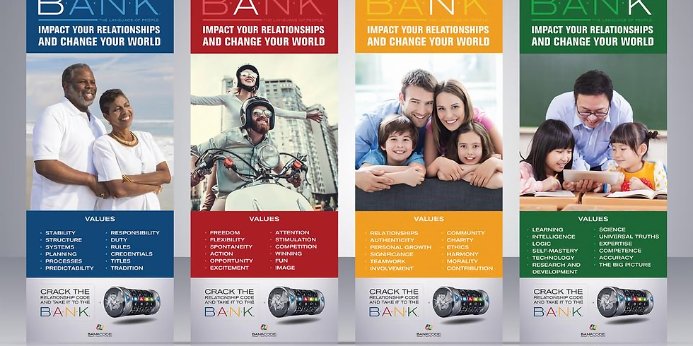 BANK Relationships Training for Dating, Marriage, Parenting