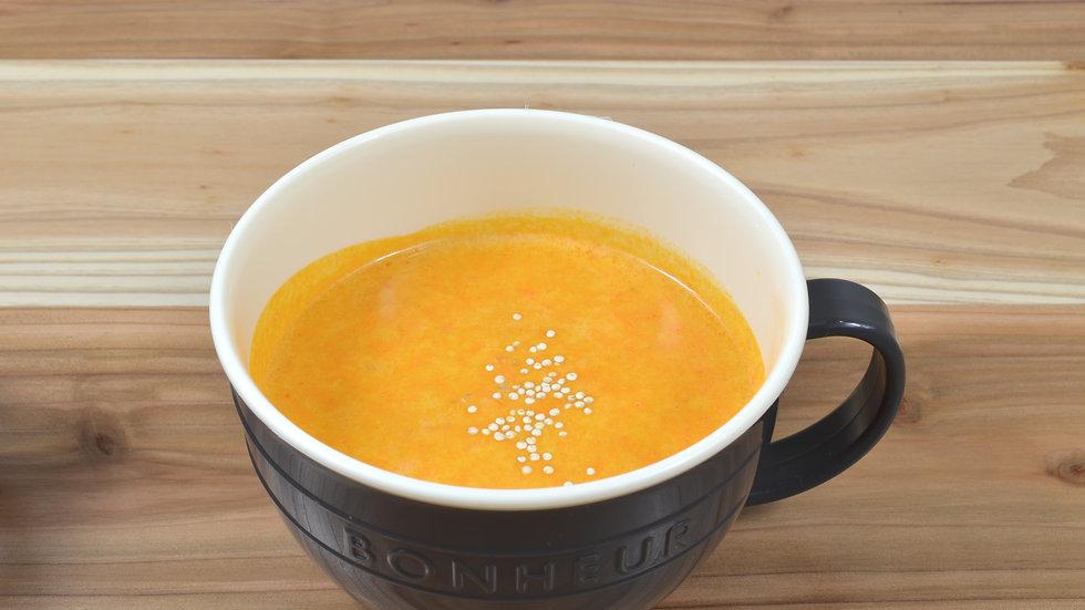 蟹トマトクリームスープ