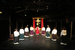Beginning of the play