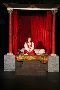 Playing Juliet from Romeo & Juliet