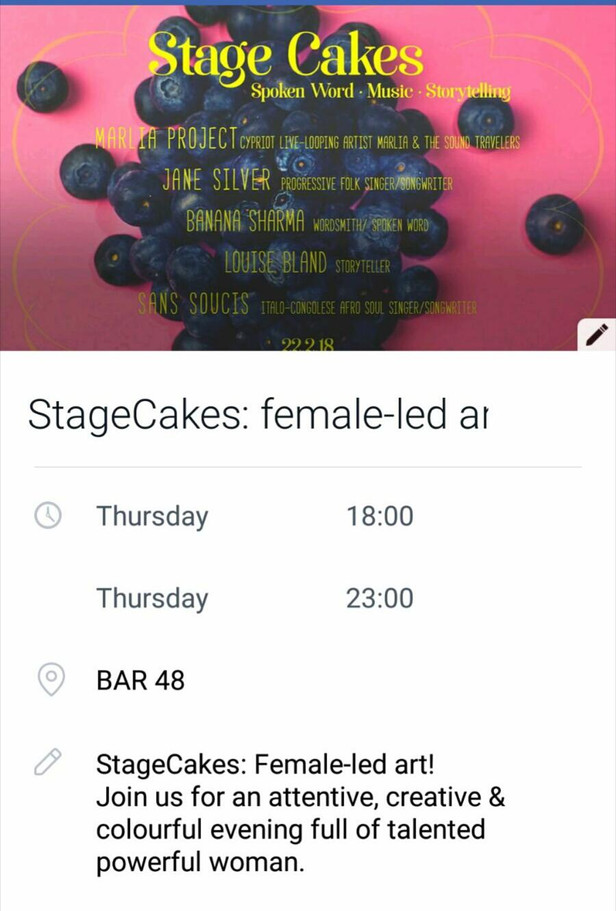 Stage Cakes - Female led art