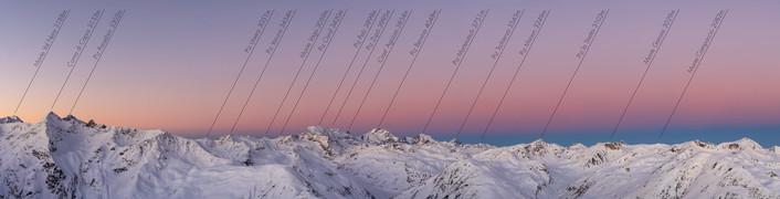 Piz Bernina panorama