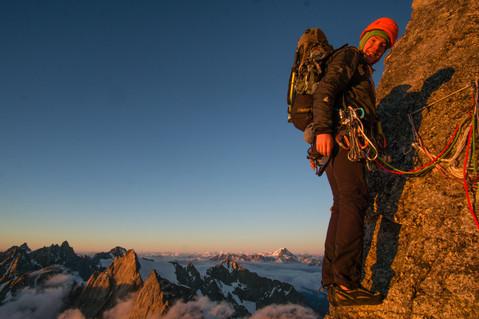 Walker Spur - Grandes Jorasses, Chamonix