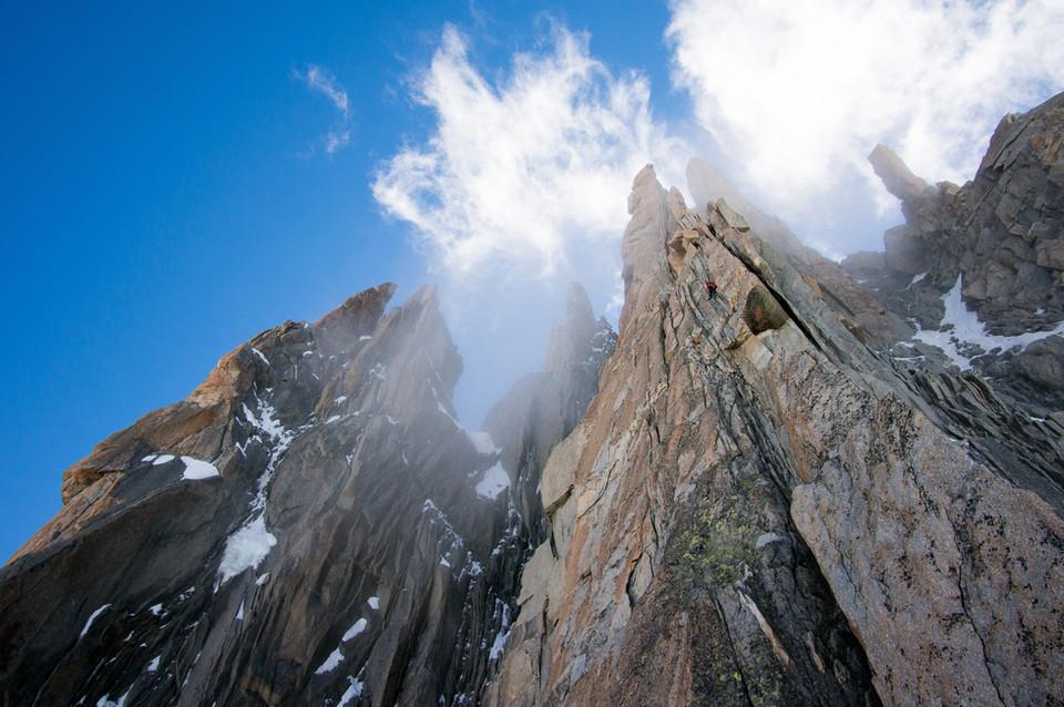 Eperon Gervasutti - Mont Blanc du Tacul, Chamonix
