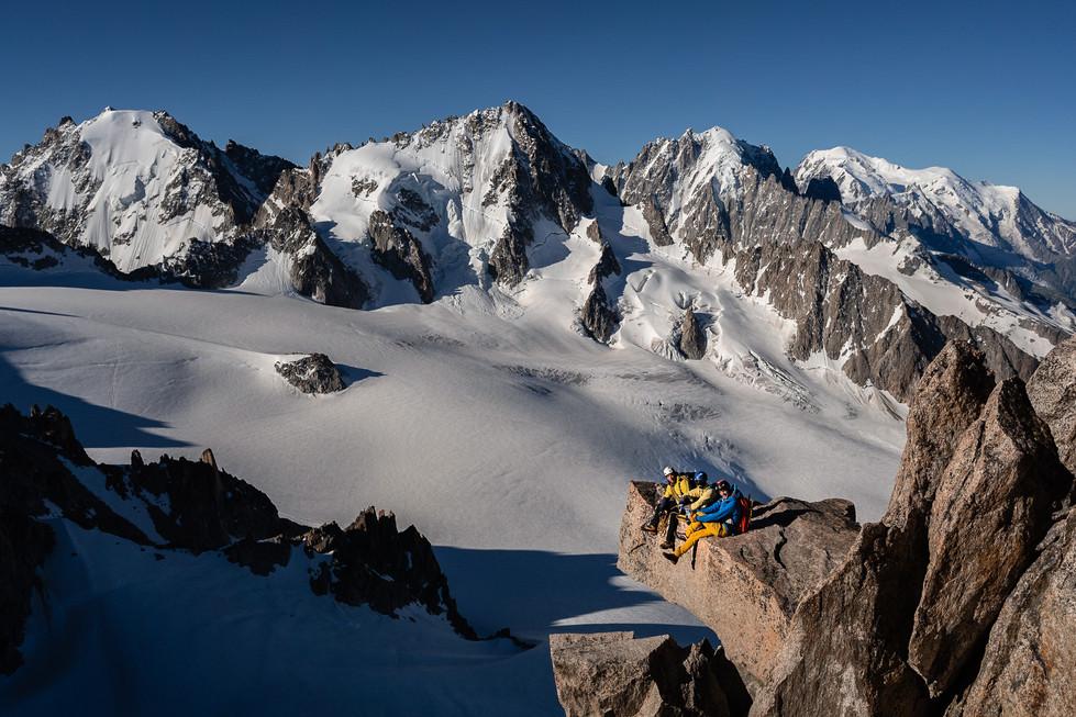 Arête de la table - Aiguille du Tour, Chamonix