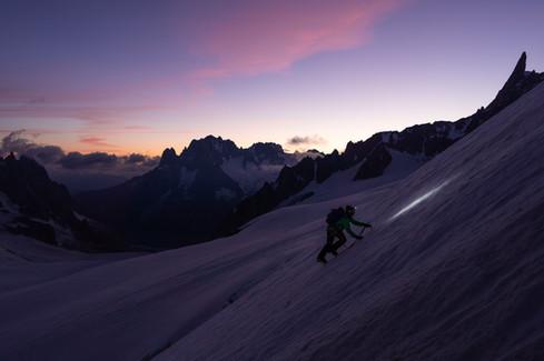 Aiguille du Toule, Chamonix
