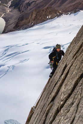 Via Austriaca - Aguija l'S, Patagonia
