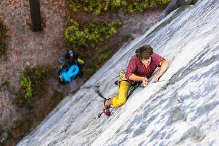 Climbing naprudko IXc - Ministrant, Hruboskalsko