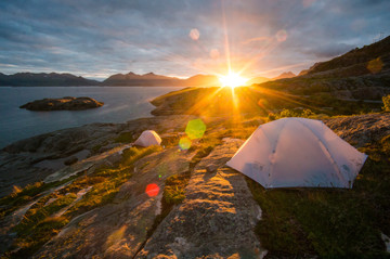 Gandalf camp, Lofoten