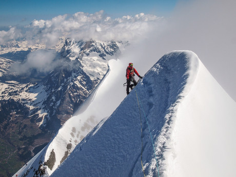 Heckmair route, Eiger north face