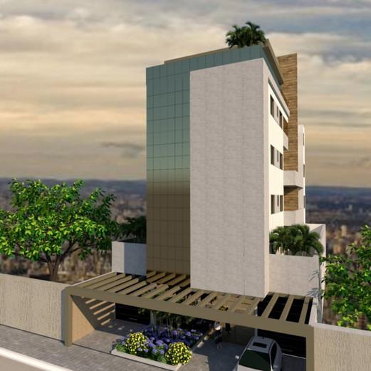 Prédio Residencial - Alvará de Concstrução / Concepção / Estudo de Viabilidade / Imagem da Fachada