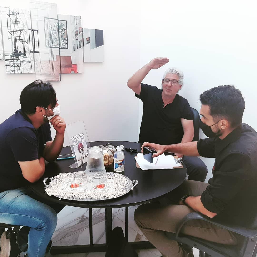 Reunião com Eng. parceiro para novos empreendimentos