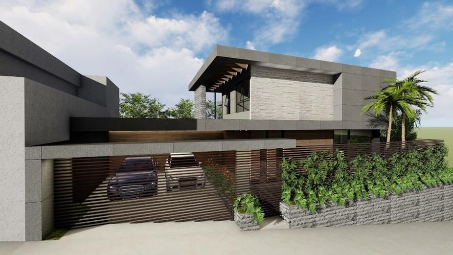 Casa Residencial - Alvará de Concstrução / Concepção / Estudo de Viabilidade / Imagem da Fachada