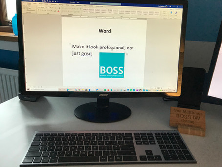 Working with Word