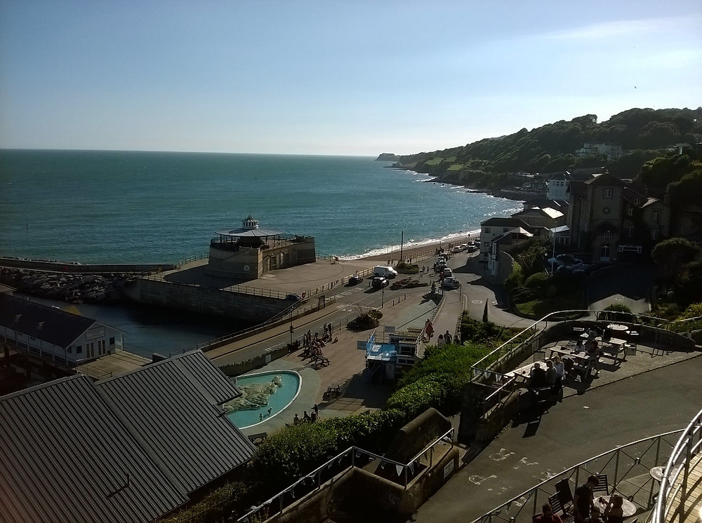 View from the BOSS IW Office,Ventnor