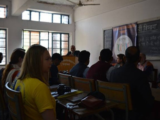 Организация и проведение встречи с проф. Р.П.Сингхом, ректором университета им. Джай Нараяна Вьясы