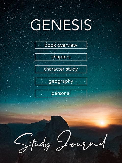 Genesis Study Journal PDF with hyperlinks