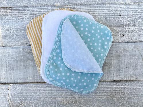 Organic Cotton Flannel Tissues (Facial Tissue or Toilet Paper Alternative)